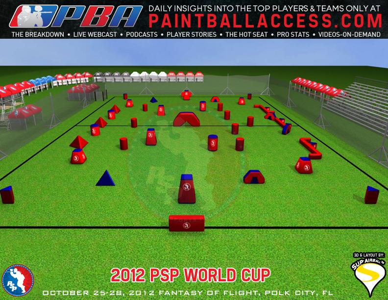World Cup - Схема поля!